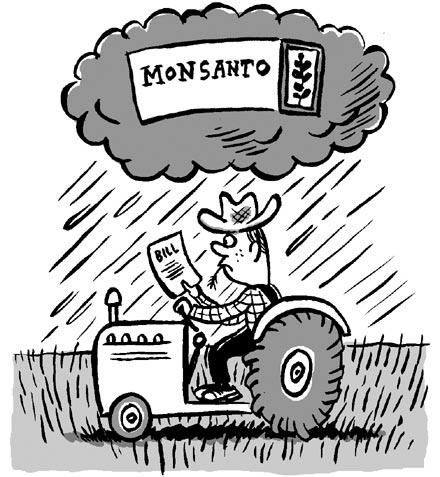 Monsanto faktura